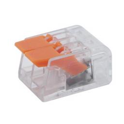Коннектор на два контакта (450В, 32А) самозажимный