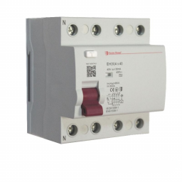 УЗО 4P 40A 100mA 230-400V IP20