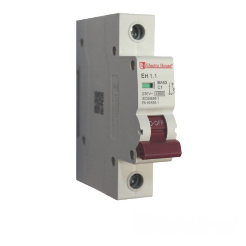 Автоматический выключатель 1P 1A EH-1.1 EH-1.1