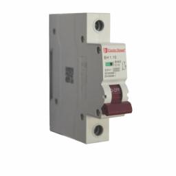 Автоматический выключатель 1P 10A 4,5kA 230-400V IP20