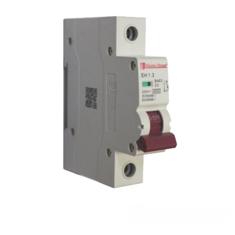 Автоматический выключатель 1P 3A EH-1.3 EH-1.3