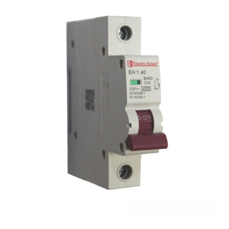 Автоматический выключатель 1P 40A EH-1.40 EH-1.40
