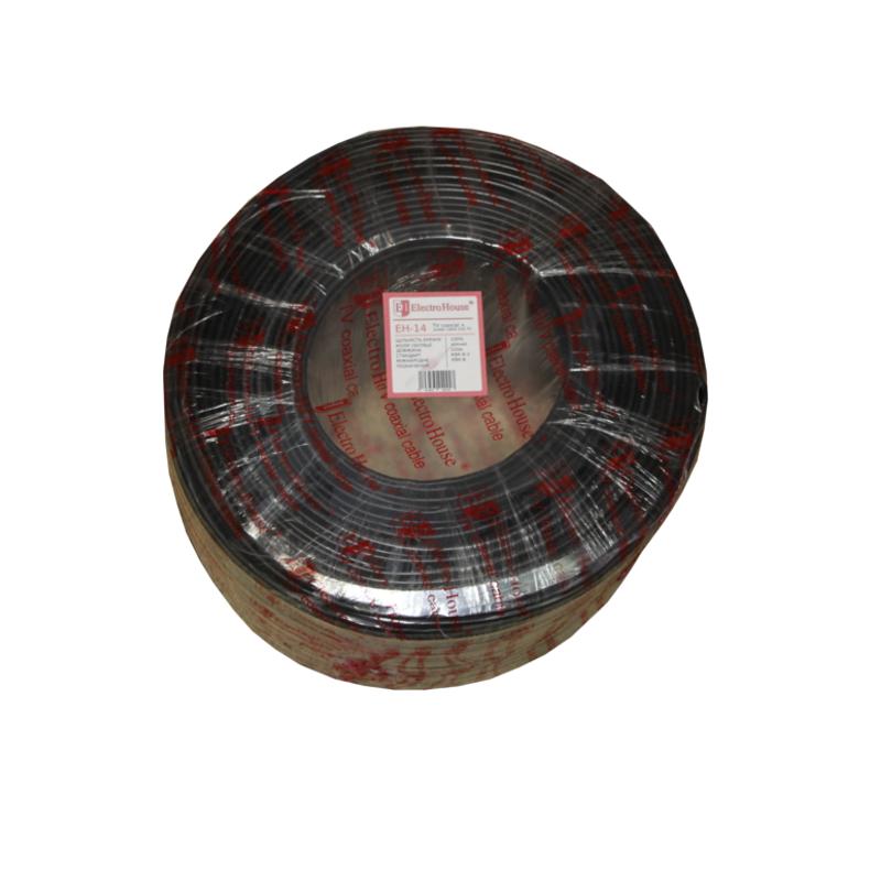 Телевизионный (коаксиальный) кабель с питанием RG-6U EH-14 EH-14