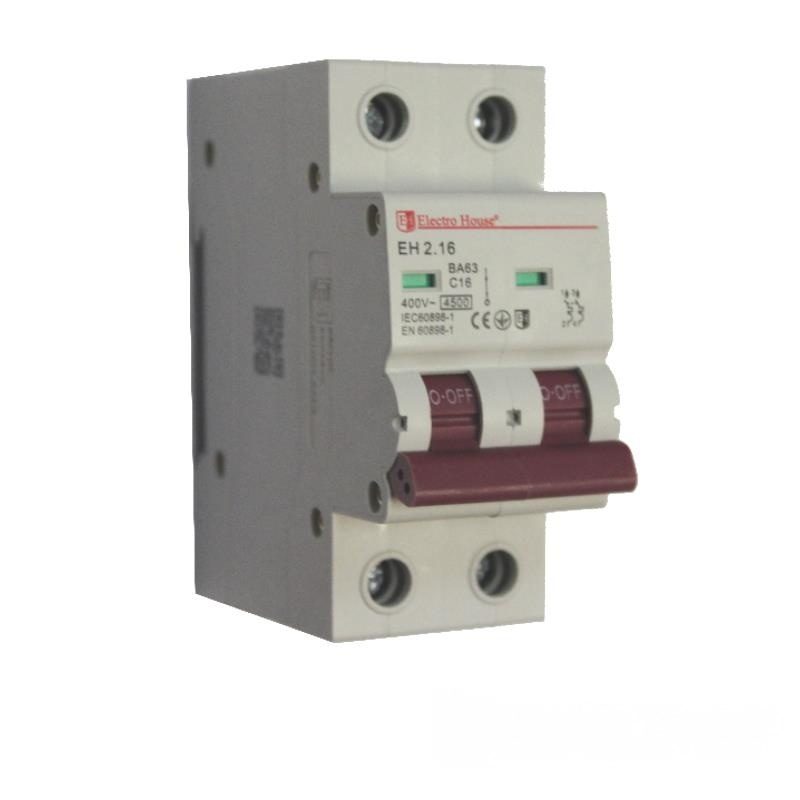 Автоматический выключатель 2P 16A EH-2.16 EH-2.16