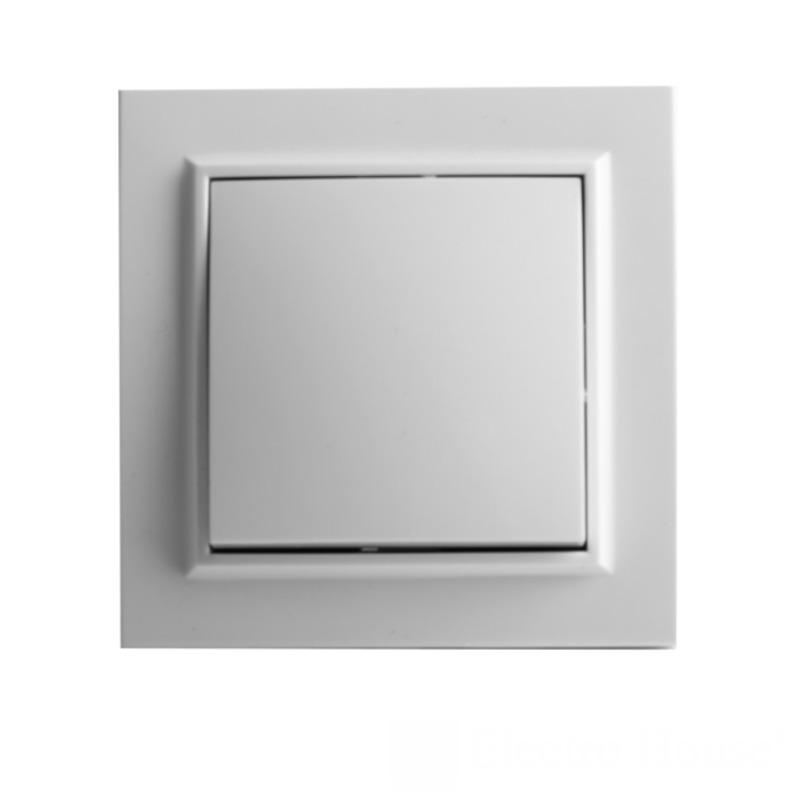 Выключатель белый Enzo EH-2101 EH-2101