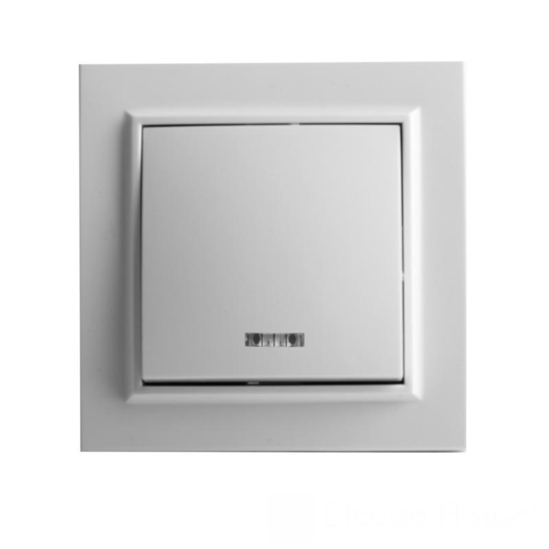 Выключатель с подсветкой Enzo EH-2103 EH-2103
