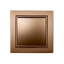 Выключатель золото Enzo EH-2181-LG