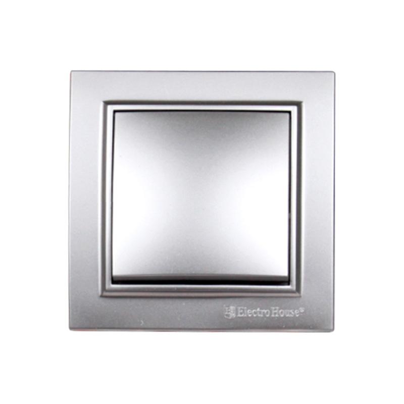 Выключатель серебро Enzo EH-2181-ST
