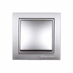 Вимикач Срібний камінь Enzo IP22
