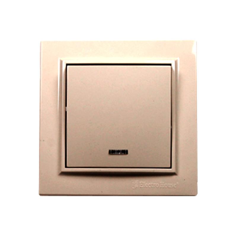 Выключатель латте с подсветкой Enzo EH-2183 EH-2183