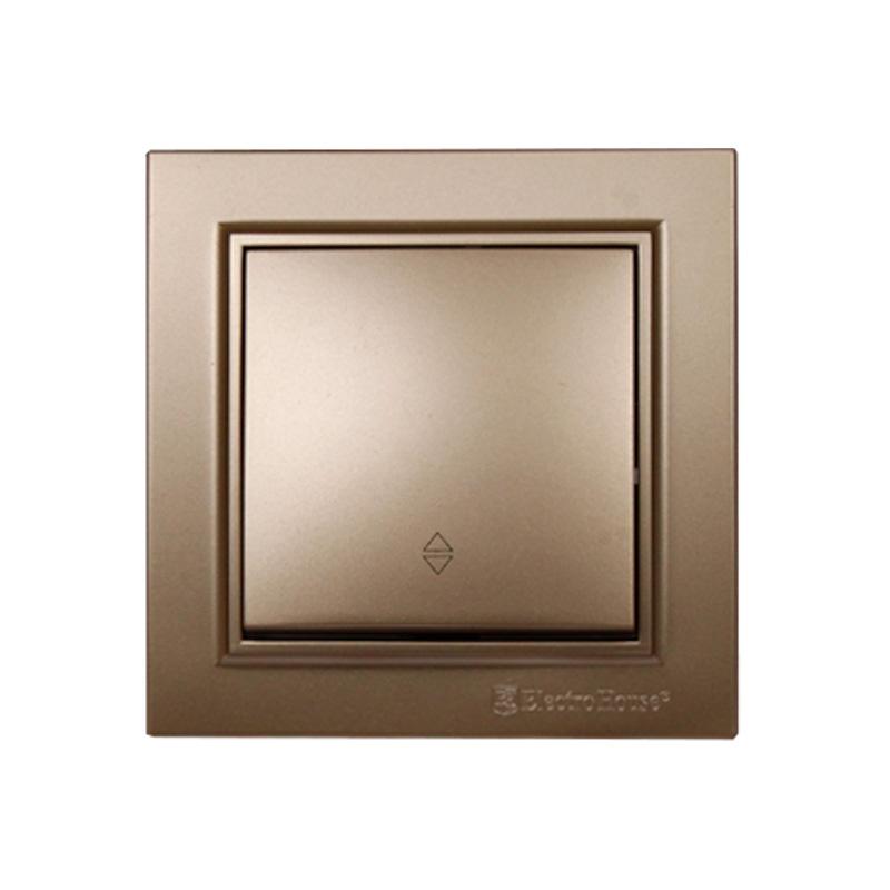 Выключатель проходной золото Enzo EH-2186-LG EH-2186-LG