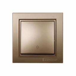 Выключатель проходной золото Enzo EH-2186-LG