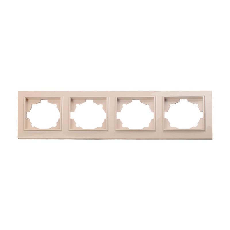Рамка четырехместная латте Enzo EH-2203 EH-2203