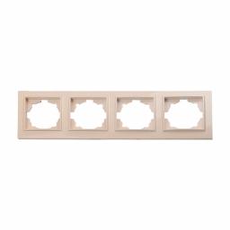 Рамка чотиримісна латте Enzo EH-2203