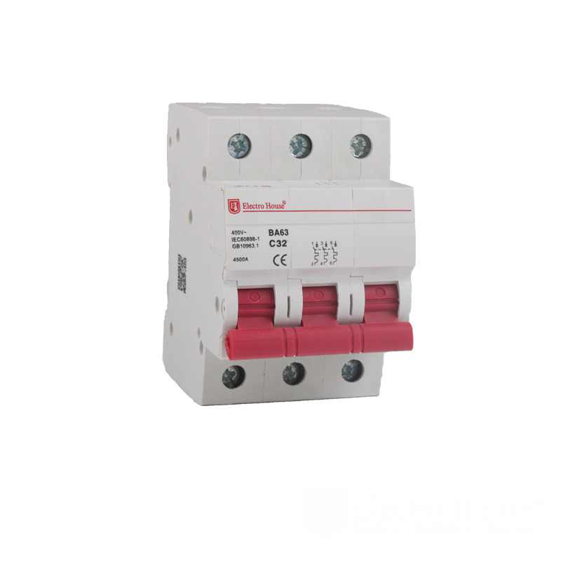 Автоматический выключатель 3P 100A EH-3.100 EH-3.100