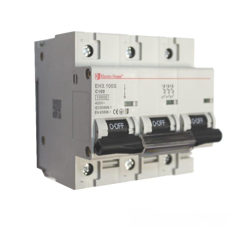 Автоматический выключатель силовой 100A EH-3.100S EH-3.100S