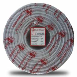 Телевізійний (коаксіальний) кабель RG-6U CCS 1,02 Cu білий ПВХ