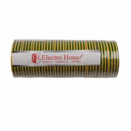 Изолента желто-зеленая 0,15мм х 18мм х 17м
