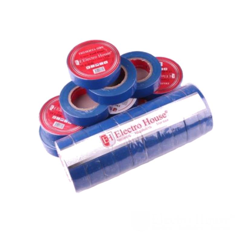 Изолента синяя 0,15мм х 18мм х 21м EH-AHT-1819