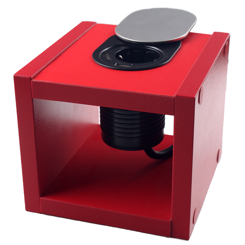 Компактная мебельная розетка EH-AR-304 EH-AR-304