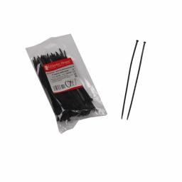 Стягування кабельне чорне 4x150