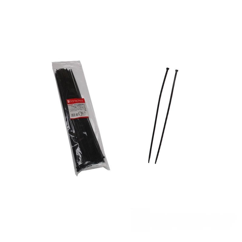 Стяжка кабельная чёрная 4x370  EH-B-0081