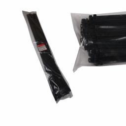 Стяжка кабельная чёрная 9x1150
