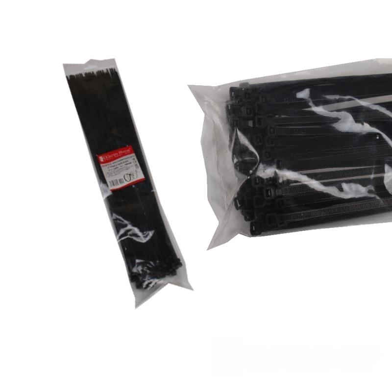 Стяжка кабельная черная 8x550