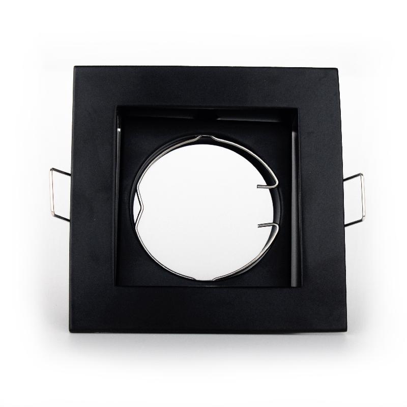 LED светильник потолочный модульный чёрный