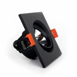 LED светильник потолочный чёрный 5W угол поворота 45° 4100К