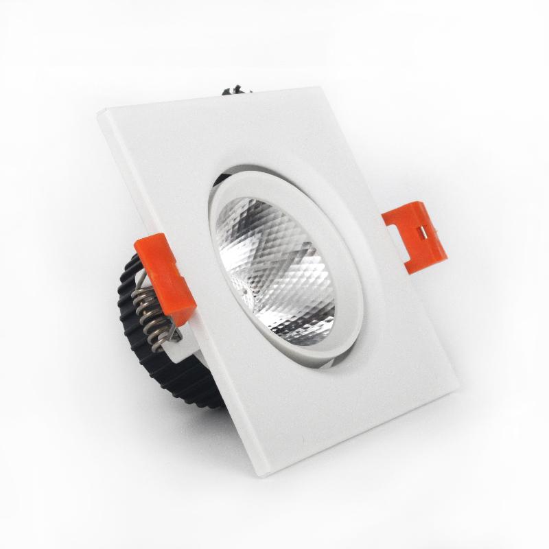 LED светильник потолочный белый 5W угол поворота 45°