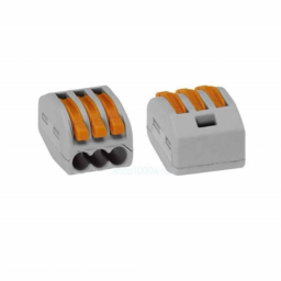 Коннектор на три контакти (400В, 32А) самозатискний