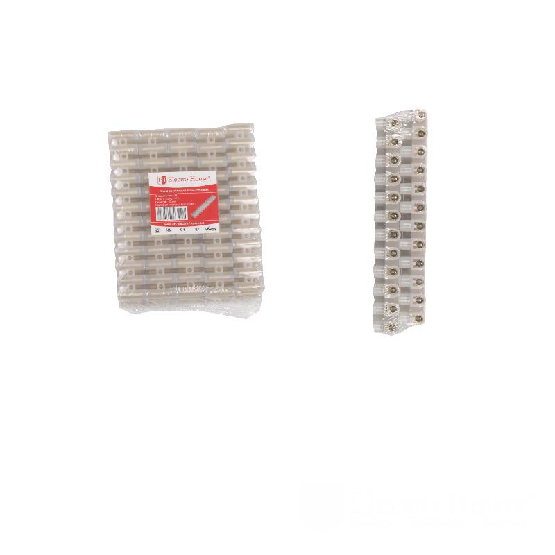 Клеммная колодка 16A 12mm² ПЭ EH-CPE-0004