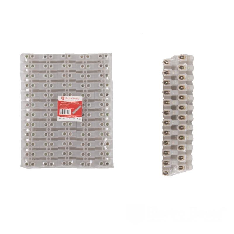 Клеммная колодка 100A 40mm² ПЭ EH-CPE-0009
