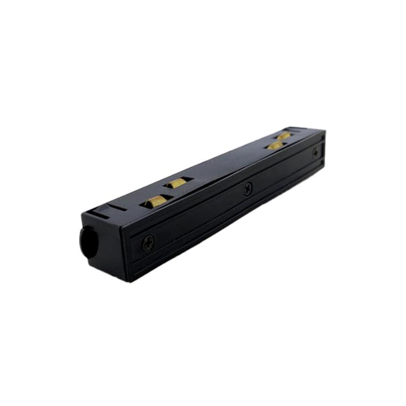 Коннектор для трековой магнитной рейки прямой