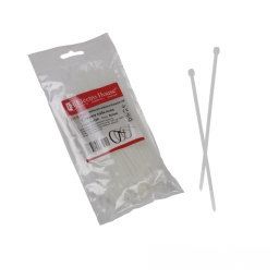 Стяжка кабельная белая 3x150