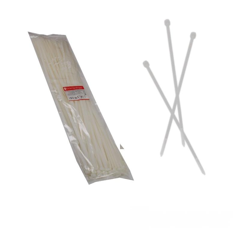 Стяжка кабельная белая 8x750 EH-K-017