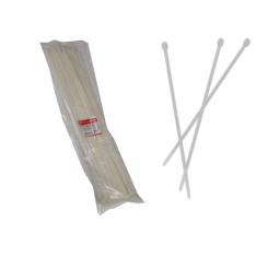 Стяжка кабельная белая 9x800