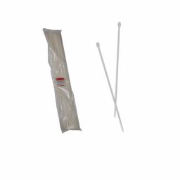 Стягування кабельне біле 9x1000