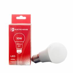 LED лампа  E27/ 4100K / 10W 900Lm /220° G45