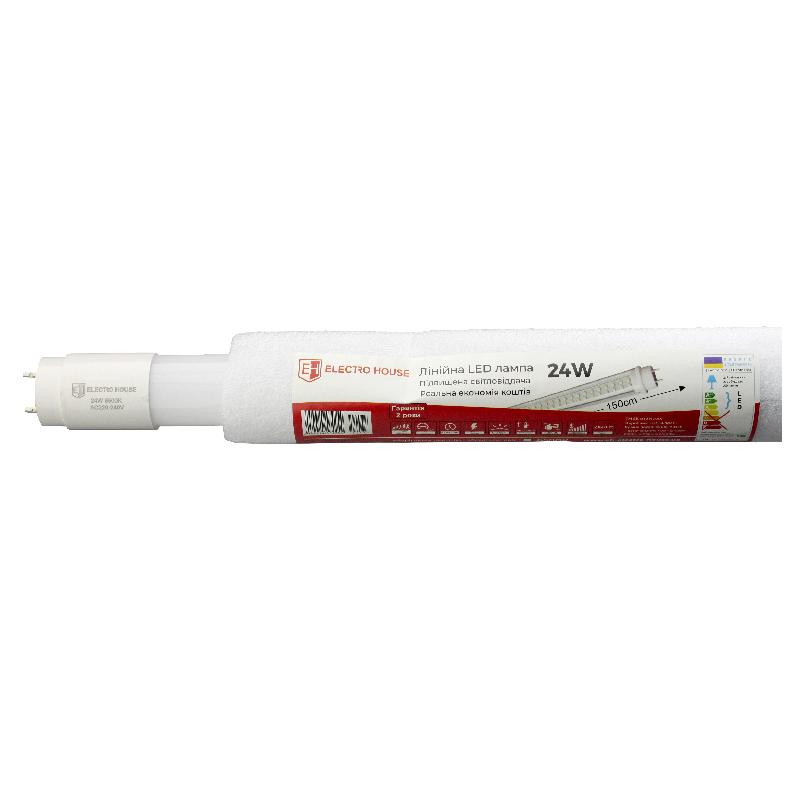 LED лампа линейная T8 24W 1500 мм EH-LMP-1283