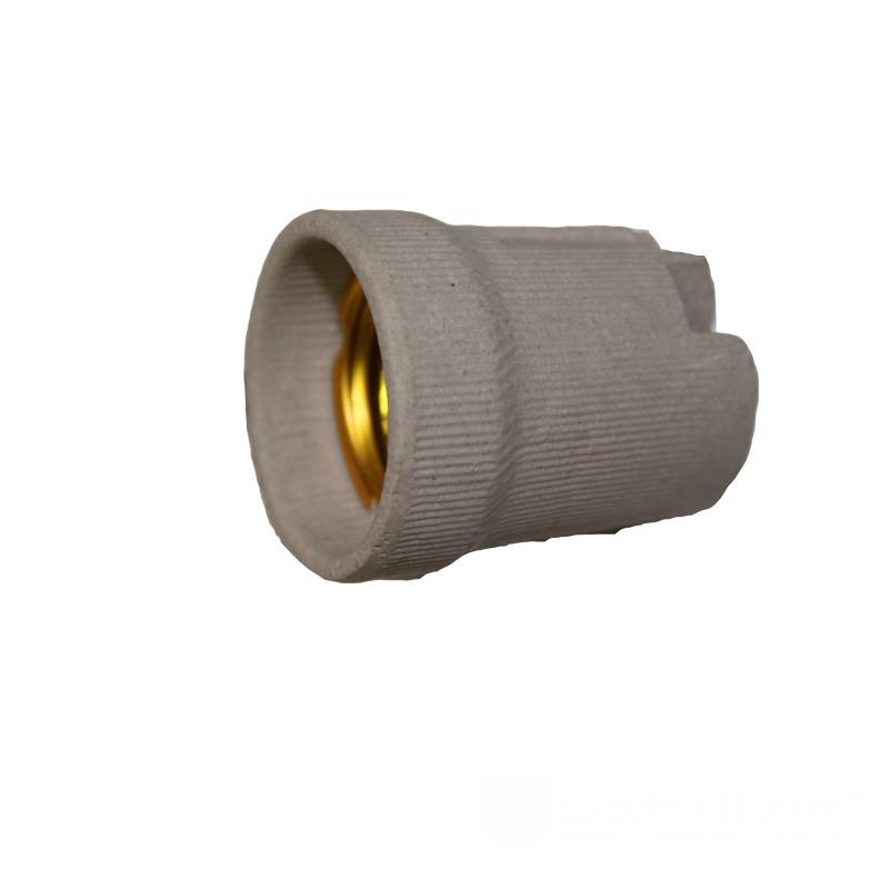 Патрон керамический без планки E27 EH-LMP-1291