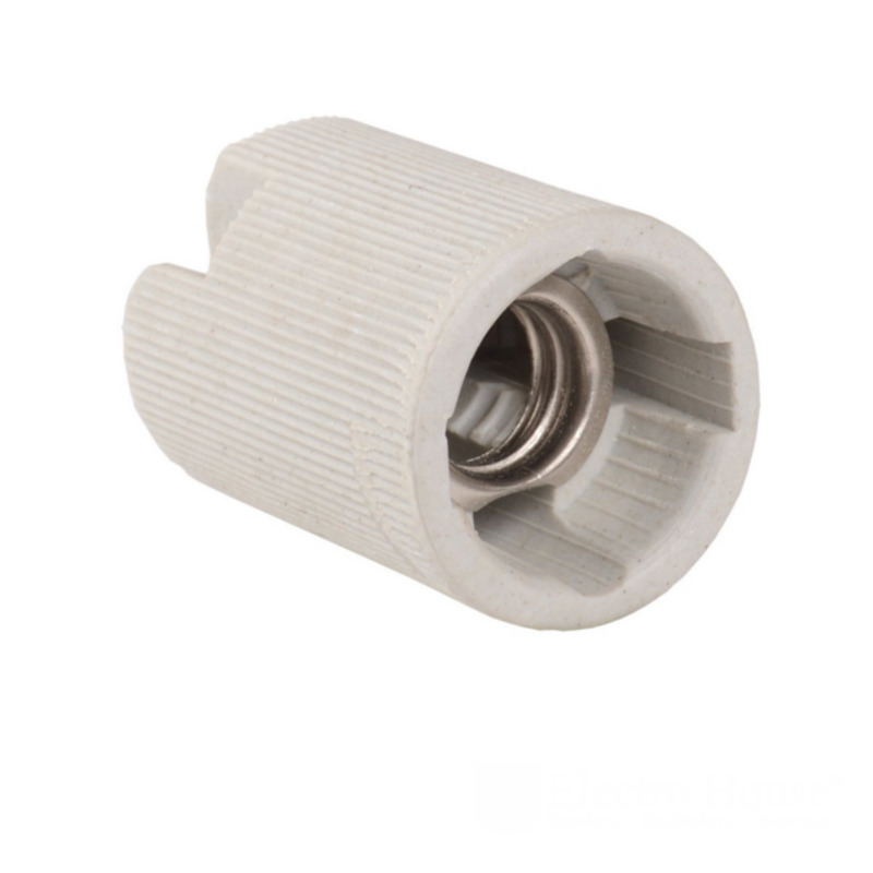 Патрон керамический E14 без планки EH-LMP-1293