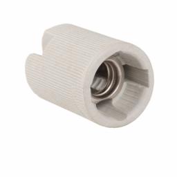 Патрон керамический E14 без планки