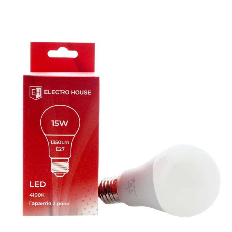LED лампа А65 Е27 15W EH-LMP-1401
