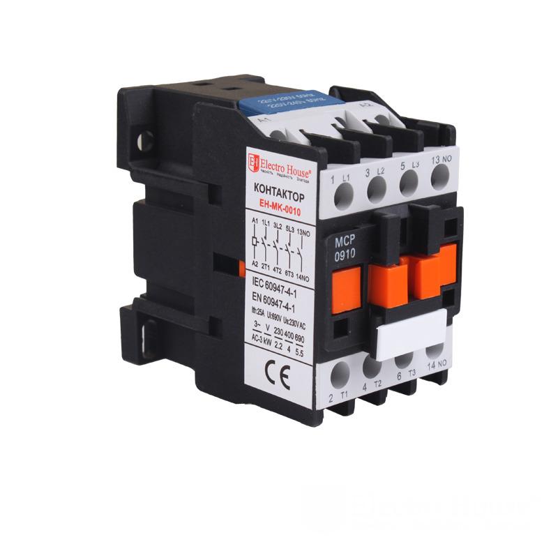 Контактор магнитный 9A 3P 220V EH-MGK-0010