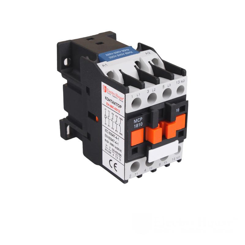 Контактор магнитный 18А 3Р 220V EH-MGK-0012