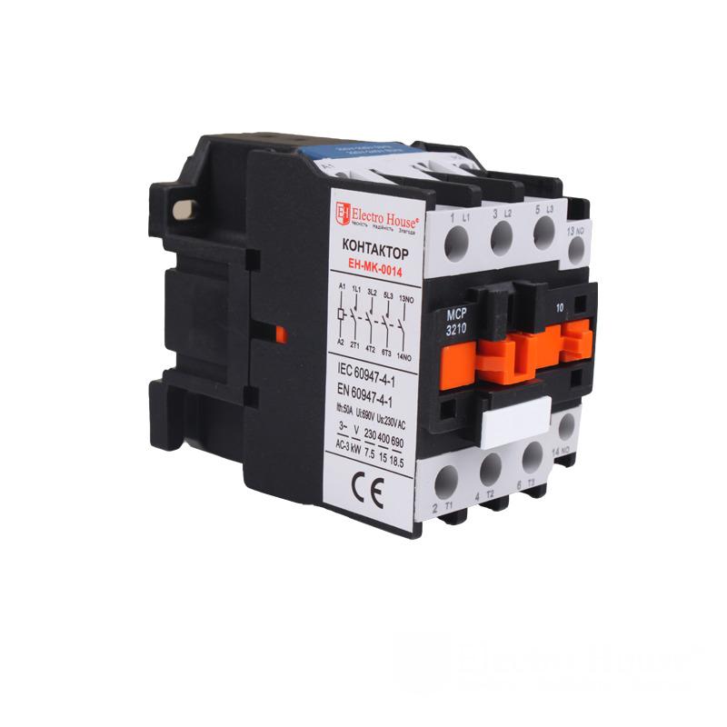 Контактор магнитный 32А 3P 220V EH-MGK-0014