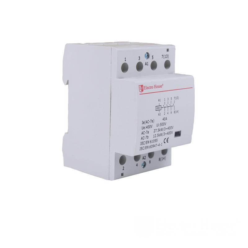 Контактор модульный 40А 230V EH-MK-24