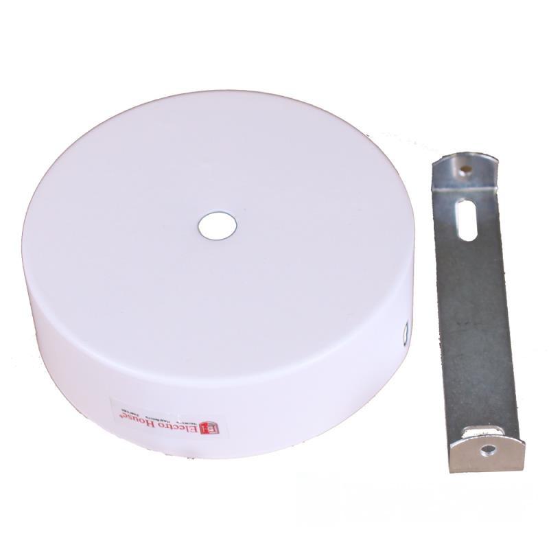 Настенное крепление белое для трекового LED светильника 20/30W EH-NKRP-0002